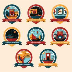 Illustrate a Series of Icons or Badges using Basic Geometric Shapes - Skillshare