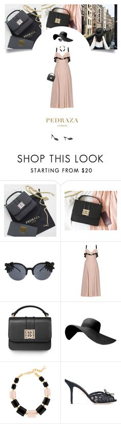 """Untitled #311"" by soledestate ❤ liked on Polyvore featuring Prada, DIANA BROUSSARD, Dolce&Gabbana, PedrazaLondon and Pedraza"