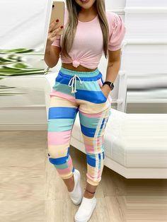 Trend Fashion, Fashion Pants, Autumn Fashion, Womens Fashion, Slacks For Women, Trousers Women, Pantalon Slim, Sport Pants, Women's Pants