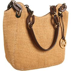 MICHAEL Michael Kors - Soft Straw Lily Medium Tote