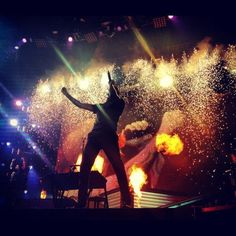 Chester Bennington - Linkin Park this was in detroit I was there :)