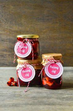 Pečený čaj (S vášní pro jídlo...) Pickles, Recipies, Presents, Jar, Canning, Vegetables, Drinks, Blog, Christmas Ideas