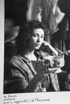 Catherine Erhardy par Henri Cartier-Bresson