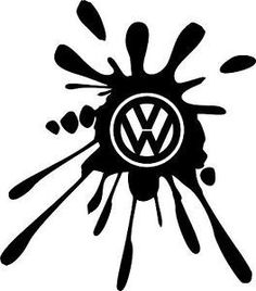 Handmade HTV VW Splat Design on T-Shirts, Hoodies, B4L, Zippers and more!!! by SouthernRebelClothin on Etsy