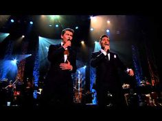 "These two. I love them!  ""Me and My Shadow"" ft. Paul Byrom and Damian McGinty"