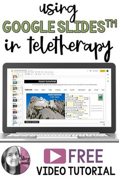 Using Google Slides™ in teletherapy is a great way to bring interaction and engagement to your sessions! This FREE video introduces the features of Google Slides™ and what makes them a NO PRINT speech therapy option for your students!