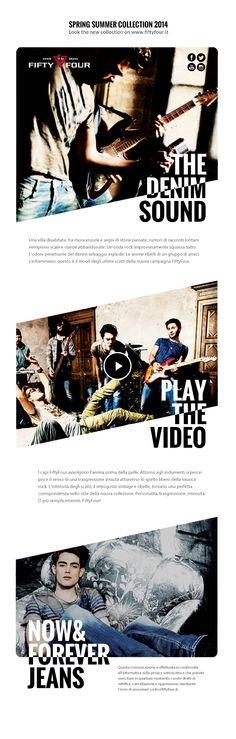 La newsletter dei capi FiftyFour