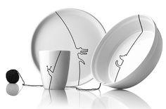 black_contour_kids_dinnerware