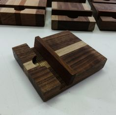 Walnut and Maple iPod iPad iPhone Tablet by FentonCreekWoodWorks, $12.00