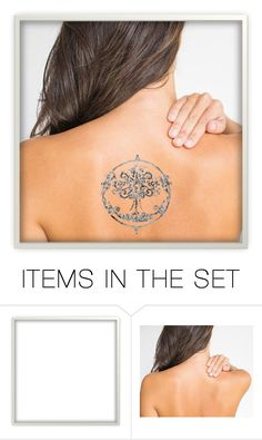 """The Tattoo"" by ltspork ❤ liked on Polyvore featuring art"