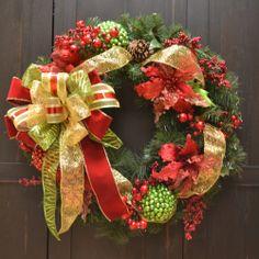 "28"" Designer Red Poinsettia Christmas Wreath Floral Home Decor,http://www.amazon.com/dp/B00601AQJ8/ref=cm_sw_r_pi_dp_eQWPsb1BKYMNNWCW"