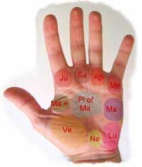 How to Read the Mounts of the Palm. Learning to read the mounts of the palm is an advanced part of palm reading. Each mount is named after a planet, and each mount corresponds to a different personality feature. Learn the main. Know Your Future, Le Tarot, Palm Reading, Palmistry, Learning To Be, Tantra, Learn To Read, Numerology, Signs