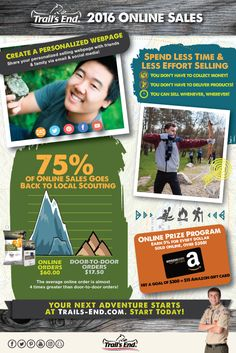 Top reasons you should sell online with Trail's End!  https://www.trails-end.com/