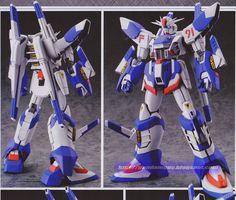 GUNDAM GUY: 1/144 F91RR Gundam F91 RR - Custom Build