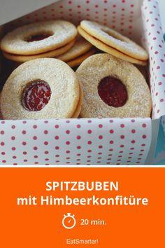 Spitzbuben - mit Himbeerkonfitüre - smarter - Zeit: 20 Min. | eatsmarter.de
