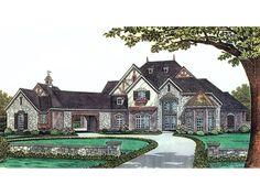Felsberg Luxury European Home  from houseplansandmore.com