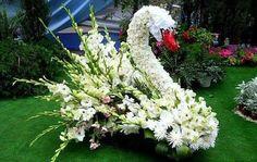 Pin by Veronica Hoenshell on Funeral Shaped Tributes Creative Flower Arrangements, Funeral Flower Arrangements, Floral Arrangements, Church Flowers, Funeral Flowers, Wedding Flowers, Topiary Garden, Garden Art, Beautiful Gardens