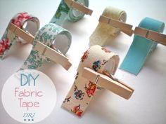 Decora Recicla Imagina el blog de Pepa …: DIY: Fabric Tape - Reciclando Telas