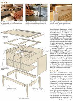 #3135 Build Sideboard - Furniture Plans