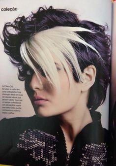 Coleção Back to Black do Cesar Augusto Revista Cabelos & cia cabelo Cesar Augusto make Jaquelin Gelsi fotografia Jean Pierre
