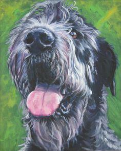 Irish Wolfhound dogs