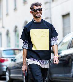 The Latest Street Style Photos From Milan Fashion Week via @WhoWhatWearUK