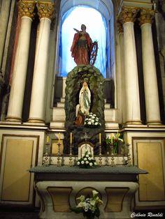 Interior da Catedral de Santiago de Compostela - Espanha