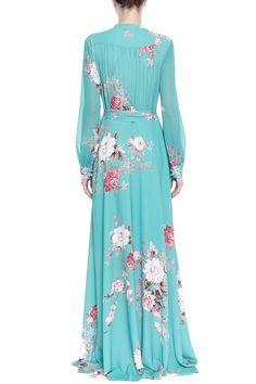 Vestido Crepe Floral Diana