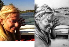 Desen după Imagine 14 - Desen în Creion de Corina Olosutean // Drawing from Picture 14 - Pencil Drawing by Corina Olosutean Portrait, Men Portrait, Portrait Illustration, Portraits