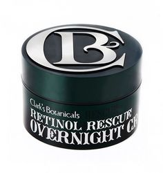 Clark's Botanicals Retinol Rescue Overnight Cream (Favorite Anti-Aging Products with Actives on Hey Pretty)
