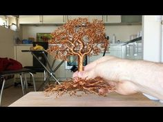 WATCH THIS FIRST -Making a Detailed Wire tree, Time Lapse - YouTube