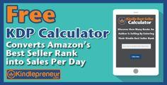 Amazon Sales Rank Calculator