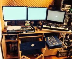 Current Workspace - blergh My Workspace, Desk, Writing Table, Desktop, Writing Desk, Offices, Table, Work Desk, Vanities