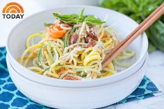 A Spiralized Thai Salad Recipe using spiralized beets, cucumber, jicama, and carrots with a tangy and spicy Thai dressing.