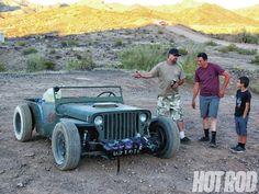 jeep roadkill