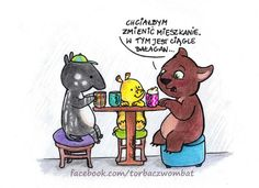 Wombat, Emoticon, Motto, Best Quotes, Inspirational Quotes, Humor, Comics, Words, Funny