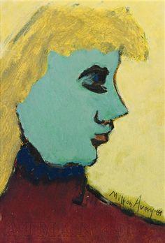 Milton Avery, Pensive Woman