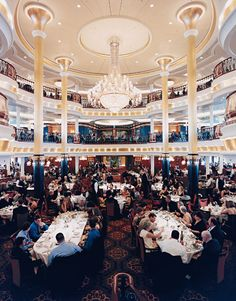 Independence of the seas main dining room, i have had many a lovely meal in here!