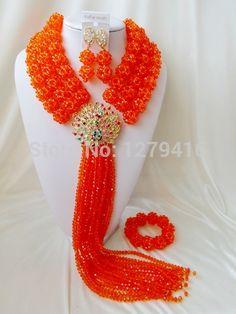 2015 настоящее продажа женщины серьги комплект последние мода кристалл бусины нигерии свадьба африканский комплект ювелирных изделий костюм устанавливает Asd892