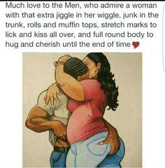 Big girls need love too...