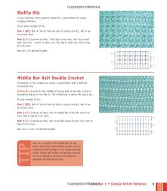 Crochet stitches, Stitches and Crochet on Pinterest