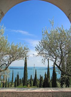 Vittoriale degli Italiani - View from the Mausoleum