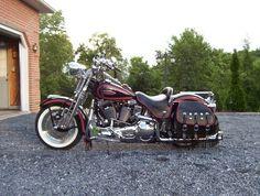 Classic Harley Davidson, Road King, Motorcycles, Heaven, Bike, Vehicles, Motorbikes, Baggers, Bicycle