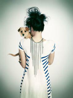 Emily Shur #dog #fashion #photoshoot