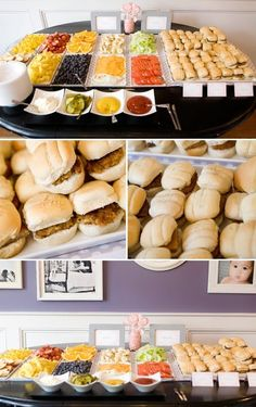 burger bar / burger party ideas....