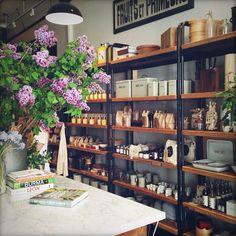 haven's kitchen, new york Retail Interior, Cafe Interior, Interior Design, Cafe Design, Store Design, Visual Merchandising, Havens Kitchen, Kitchen New York, Open Kitchen