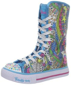 $0.00 Skechers Kids Shuffles-Dizzy Diva Lighted Sneaker (Little Kid)
