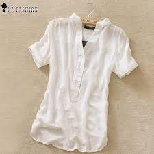 Resultado de imagen para camisas femininas manga curta de seda