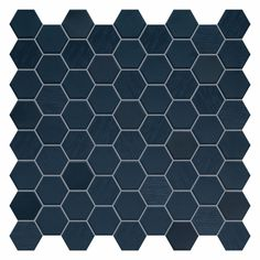 Quality imported tiles, flooring & bathware including the Beton Still Deep Navy Hex Mosaic 316 x Shop online, in-store or call 0800 TILEDEPOT. Hexagon Tile Bathroom, Blue Mosaic Tile, Navy Bathroom, Hexagon Tiles, Blue Tiles, Small Bathroom, Bathroom Ideas, Bathrooms, Master Bathroom
