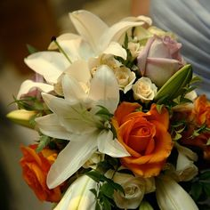 A gorgeous trailing bouquet :: Photo by Nathania Springs Receptions :: Dandenong Ranges, Victoria, Australia